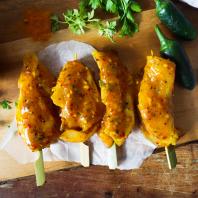 Chicken Fillet Indian Mystery Kebabs