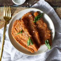 Chicken Fillet Schnitzel Crumb