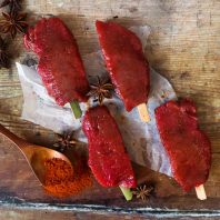 Pork Kebabs Chinese