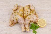 Spatchcock Chicken Garlic