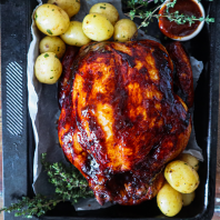Whole Chicken Smoky BBQ