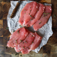Dry Cured Unsmoked Back Bacon